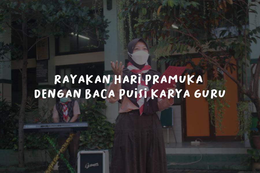 SMP IT PAPB Semarang Rayakan Hari Pramuka dengan Baca Puisi Karya Guru
